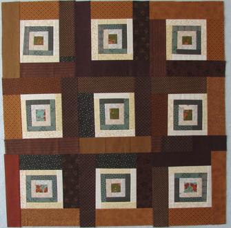 lap quilt A