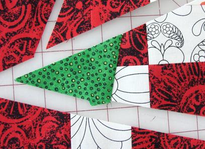 leaf sewn